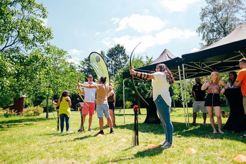 Bogenschießen Teamevent für das Teambuilding