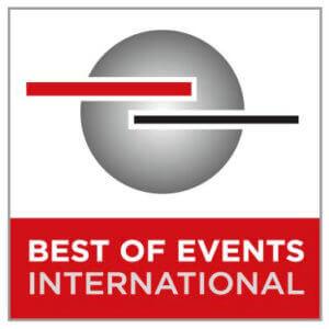 Best of Events International Messe Logo