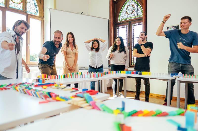 Domino Teamevent Rahmenprogramm 01
