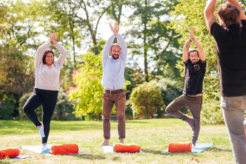 Team Event Business Yoga 01