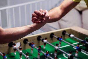 Kicker Tisch bauen Team Event 02