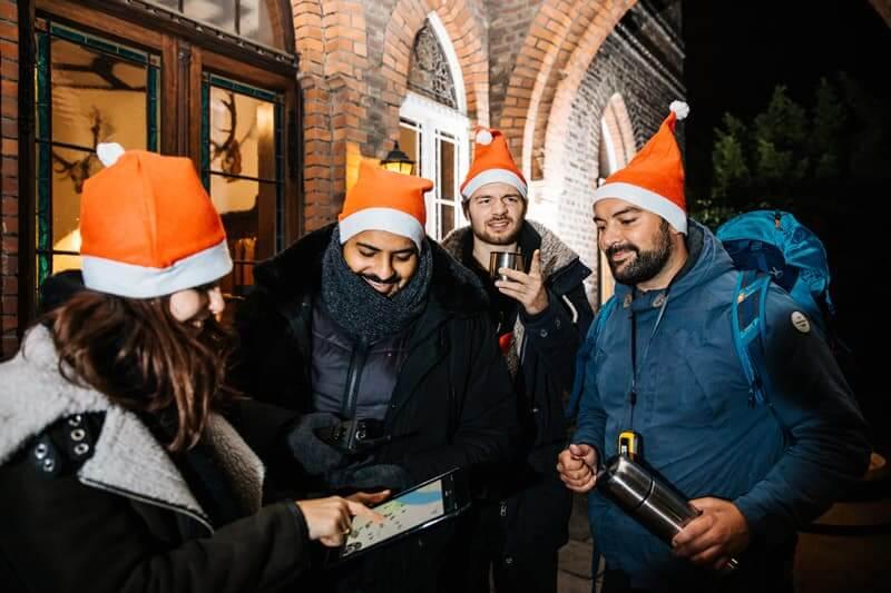 Mit der iPad Rallye von teamio ist Spaß bei der Weihnachtsfeier garantiert