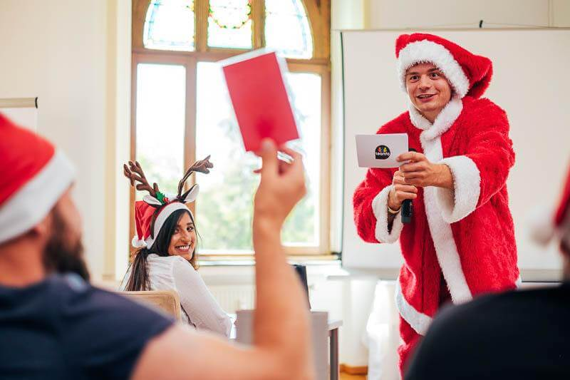 teamio weihnachtsfeier Ideen - Quiz Show 01