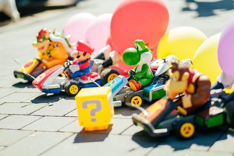 Mario Kart Rennen Team Event 01