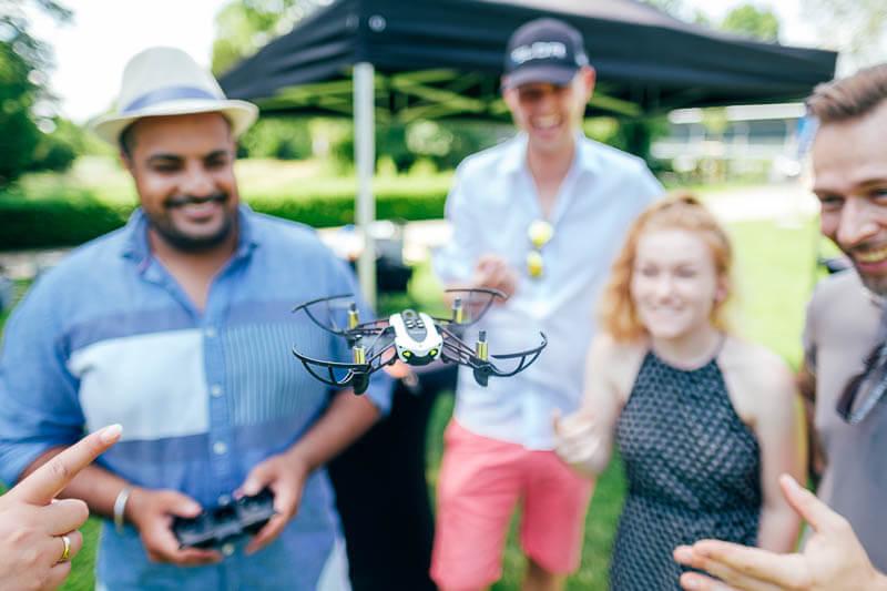 Drone Drohne Rennen Teamevent 02