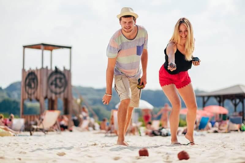 Beach Games als Team Event für den Teamgeist