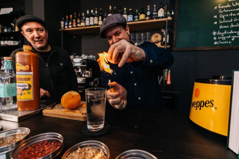 Online Gin Tasting als Teamevent im Homeoffice